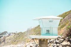Dia ensolarado da praia Fotos de Stock