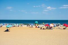 Dia ensolarado da praia Foto de Stock