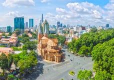 Dia ensolarado de Ho Chi Minh City Foto de Stock