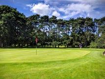 Dia ensolarado do golfe Fotografia de Stock