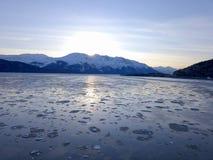 Dia ensolarado em Alaska imagens de stock royalty free