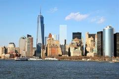 Dia ensolarado em New York City imagens de stock royalty free