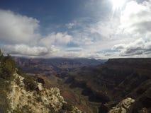 Dia ensolarado Grand Canyon Imagem de Stock Royalty Free