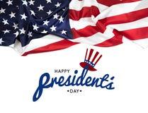 Dia EUA dos presidentes - imagem foto de stock