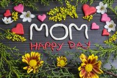 Dia feliz da mamã Imagem de Stock Royalty Free