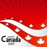 Dia feliz de Canadá Fotos de Stock Royalty Free