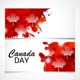 Dia feliz de Canadá Fotografia de Stock