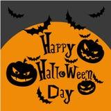 Dia feliz de Halloween Fotografia de Stock