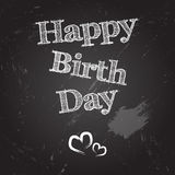 Dia feliz do nascimento Ilustração Stock