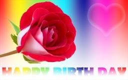 Dia feliz do nascimento Imagens de Stock Royalty Free