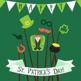Dia feliz do ` s de St Patrick Fotografia de Stock