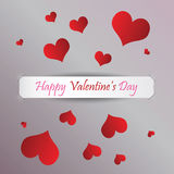 Dia feliz do `s do Valentim foto de stock royalty free