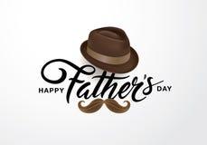 Dia feliz do ` s do pai ilustração stock
