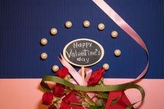 Dia feliz do `s do Valentim imagem de stock royalty free