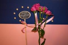 Dia feliz do `s do Valentim foto de stock royalty free