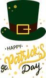 Dia feliz do St Patricks ilustração do vetor