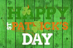 Dia feliz do St Patricks imagem de stock