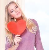 Dia feliz do Valentim Fotos de Stock
