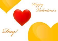 Dia feliz dos Valentim Foto de Stock
