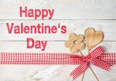 Dia feliz dos Valentim Foto de Stock Royalty Free
