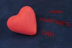 Dia feliz dos Valentim Imagens de Stock Royalty Free