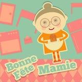 Dia França da avó Imagem de Stock