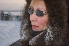 Dia gelado Fotografia de Stock Royalty Free