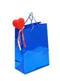Dia Gift.Isolated dos Valentim. Foto de Stock