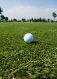 Dia golfing perfeito imagens de stock