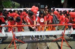 Dia Handwashing global em Indonésia Imagens de Stock Royalty Free