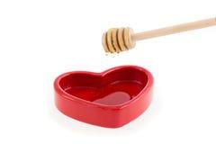 Dia il miele nel cuore Immagini Stock