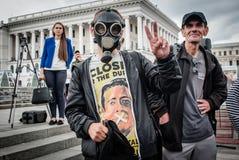 Dia internacional contra o abuso de drogas e o tráfico ilícito Fotos de Stock Royalty Free