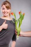 Dia internacional da mulher Foto de Stock Royalty Free