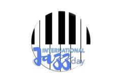 Dia internacional do jazz, o 30 de abril Foto de Stock