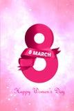 Dia internacional do ` s das mulheres Fotos de Stock