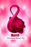 Dia internacional do ` s das mulheres Fotografia de Stock