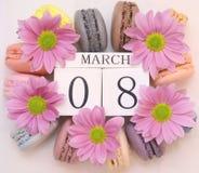 Dia internacional do ` s das mulheres, o 8 de março Foto de Stock Royalty Free