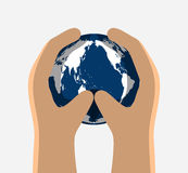 Dia internacional para a preservação da camada de ozônio Fotografia de Stock