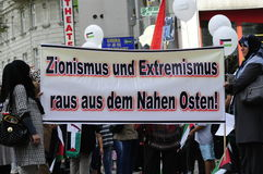Dia internacional 2015-Vienna de Al Quds Imagem de Stock Royalty Free