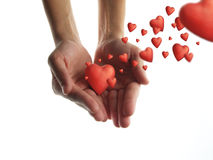 Dia l'amore Fotografie Stock