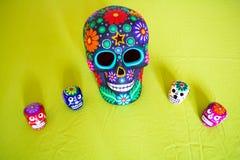 Dia mexicano dos mortos imagem de stock royalty free