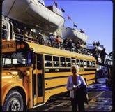 Dia 35 mm aan foto Familievakantie door de cruise van Utah, van Colorado en van Alaska Stock Fotografie