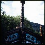 Dia 35 mm aan foto Familievakantie door de cruise van Utah, van Colorado en van Alaska Royalty-vrije Stock Foto's