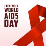 Dia Mundial do Sida, cartaz e citações, mensagem inspirada Foto de Stock