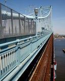Dia na ponte Fotografia de Stock Royalty Free