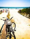 Dia na praia Fotos de Stock Royalty Free