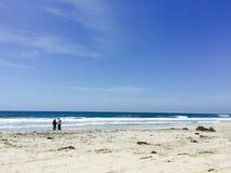 Dia na praia Fotos de Stock
