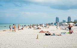 Dia na praia Imagem de Stock Royalty Free