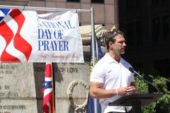 Dia nacional do cumprimento da oração Fotografia de Stock Royalty Free