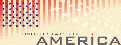 Dia nacional dos EUA imagem de stock royalty free